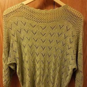 🔥Hand Crocheted 3/4 Sleeve Sweater 🔥